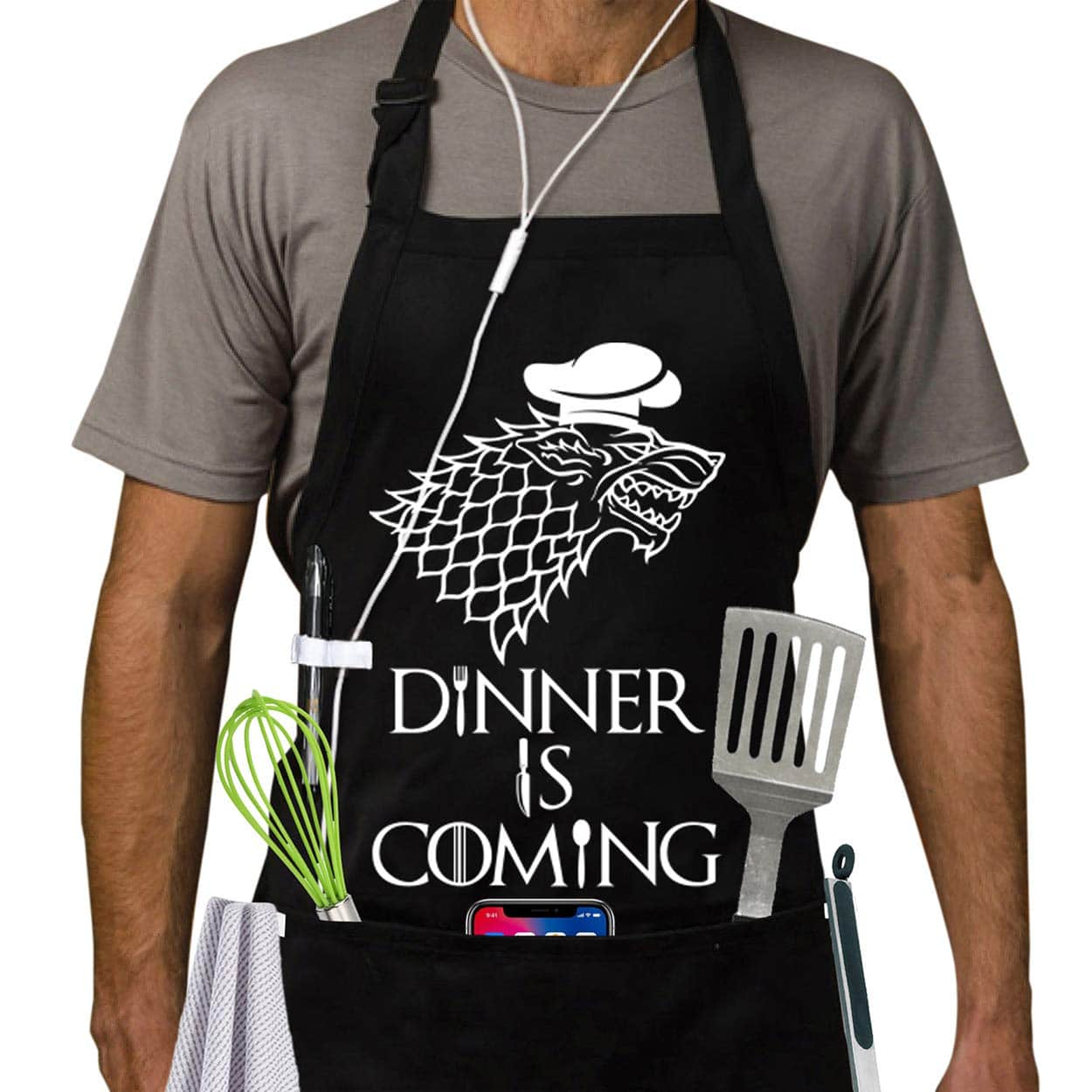 dinner is coming apron Game of Thrones gift
