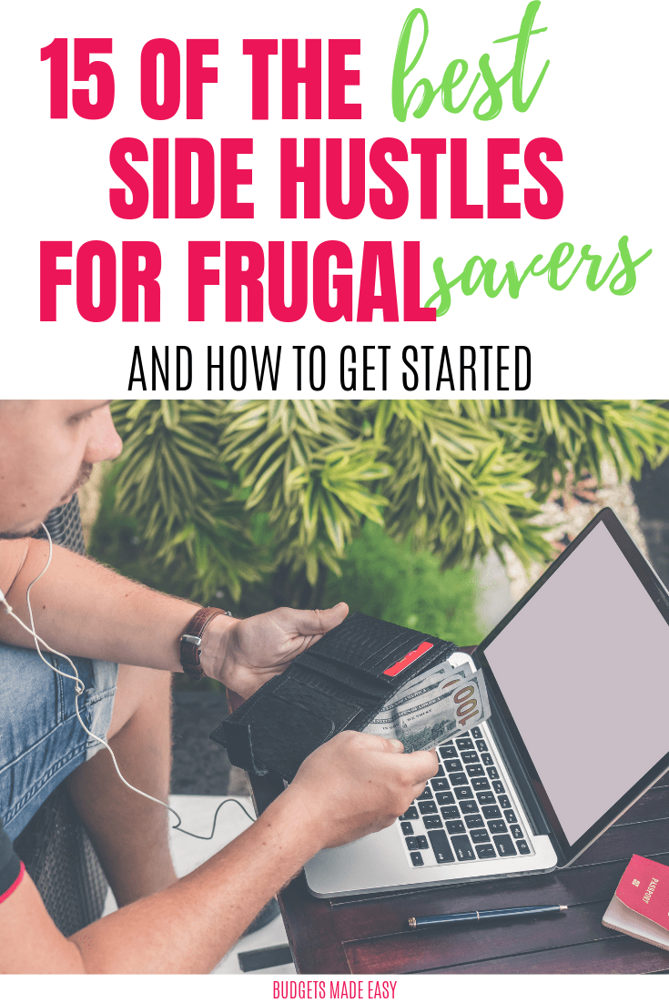 the best side hustles for frugal savers