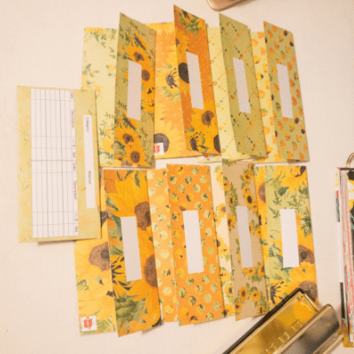 sunflower envelopes