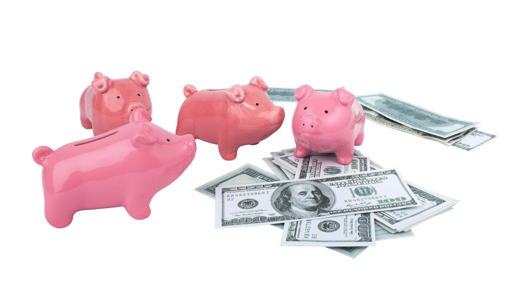 piggy bank for saving multiple sinking funds