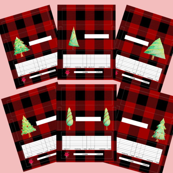Christmas cash envelopes