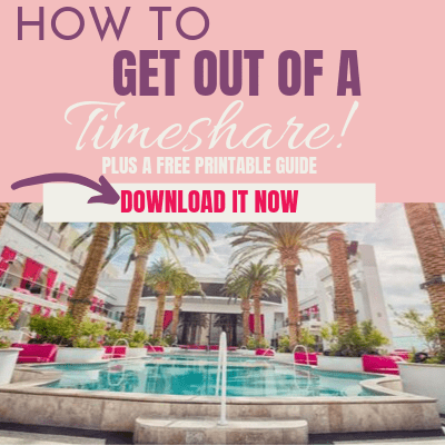 How to Get Out of a Timeshare!