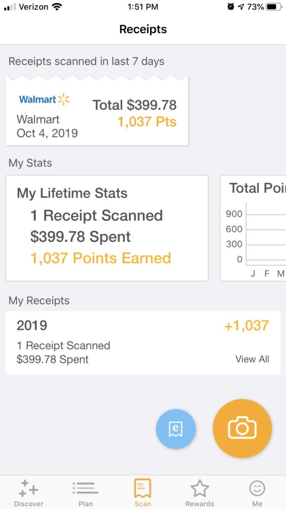 fetch rewards receipt