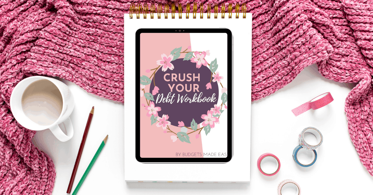 crush your debt workbook facebook size