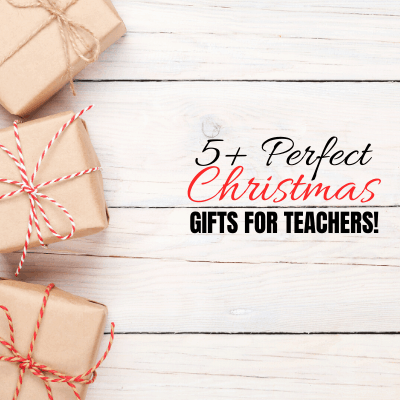 Frugal Christmas gifts for teachers
