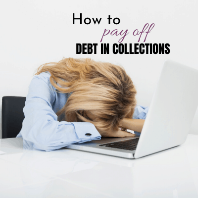 how to pay off debt in collections