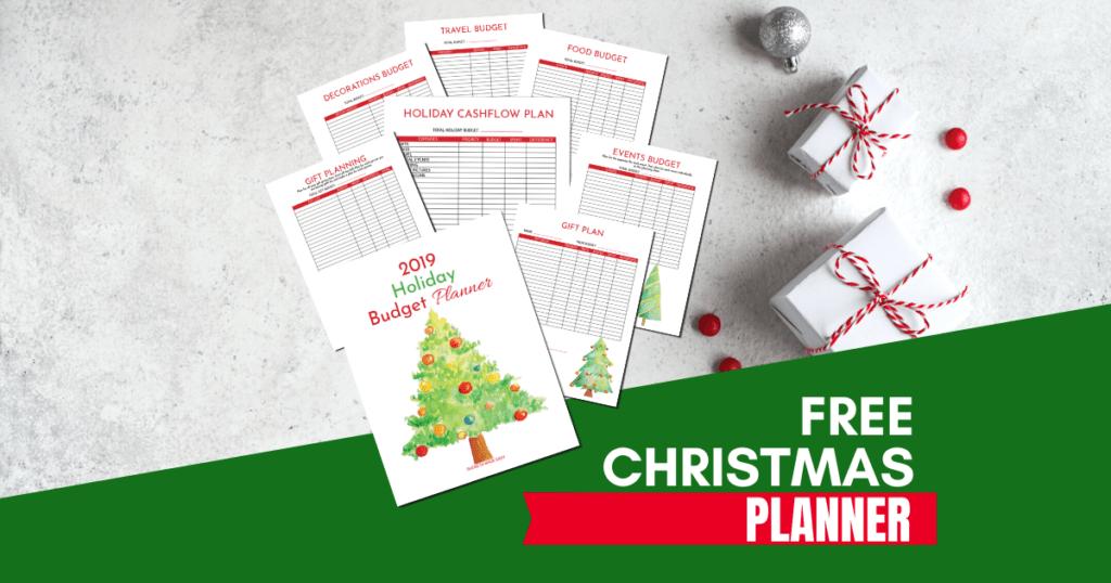 2019 free christmas budget printable
