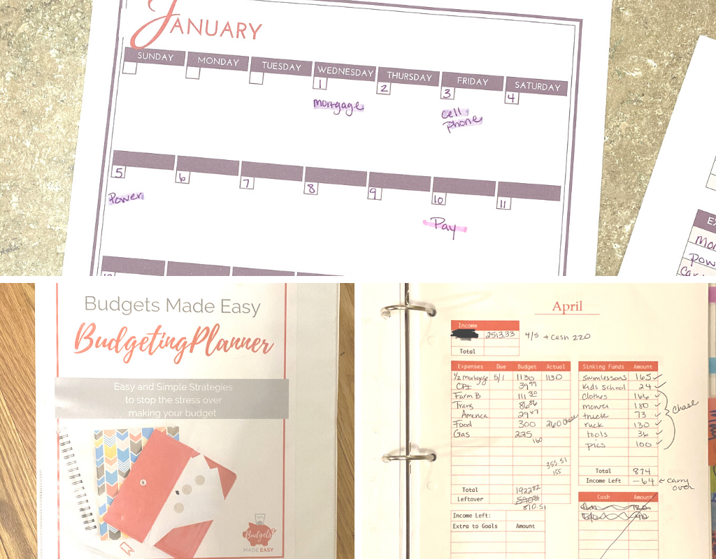 how to organize your bills using a budget binder