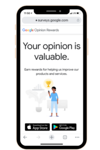 The Google Opinion Rewards is another legit money making app