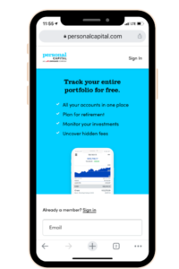 Use the Personal Capital app to earn money. A legit money making app.