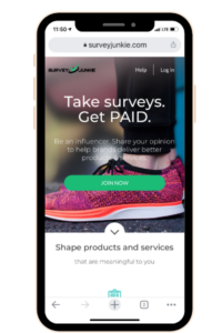 This Survey Junkie app is a great money making app.