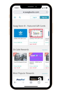 Another app to make money fast is Swagbucks.
