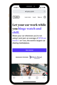 Use this Turo app to earn money fast and rent out your car.