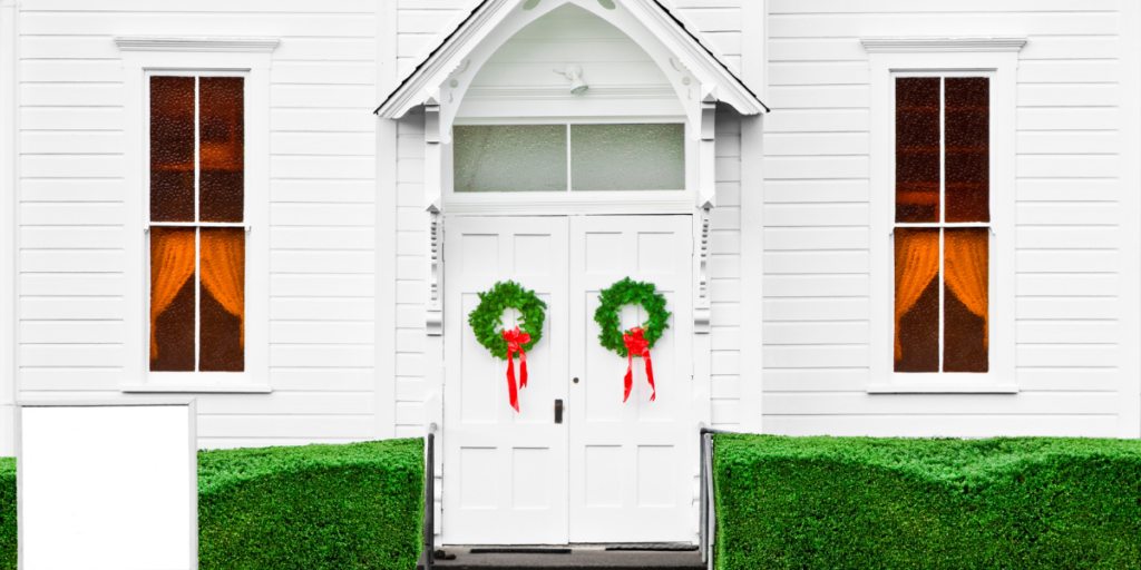 Church at Christmas ready to help with free Christmas gifts