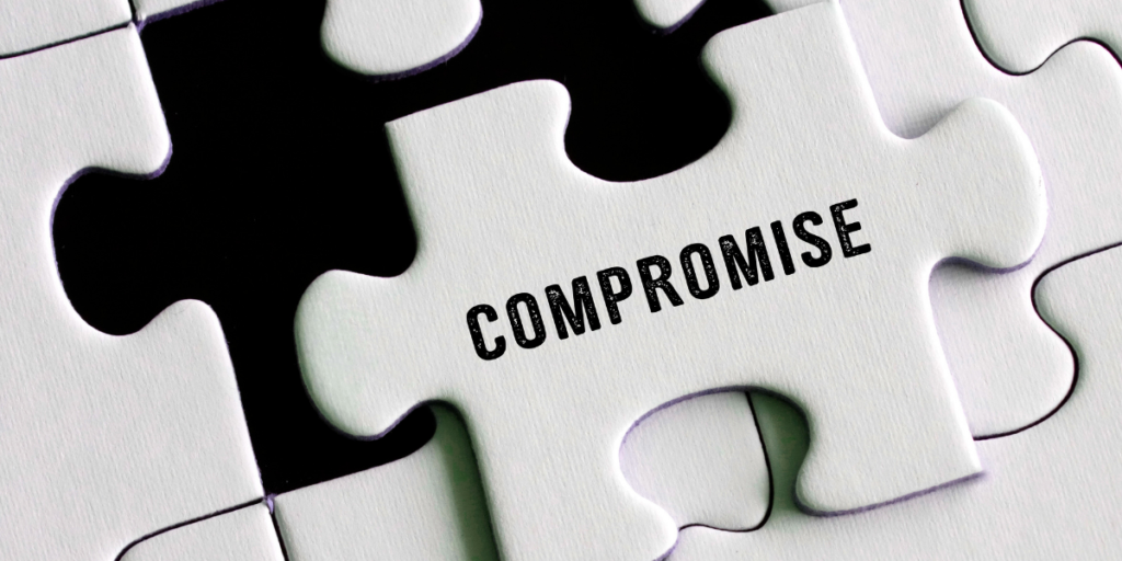 Compromising can help change ones  money mindset and secure a financial future.