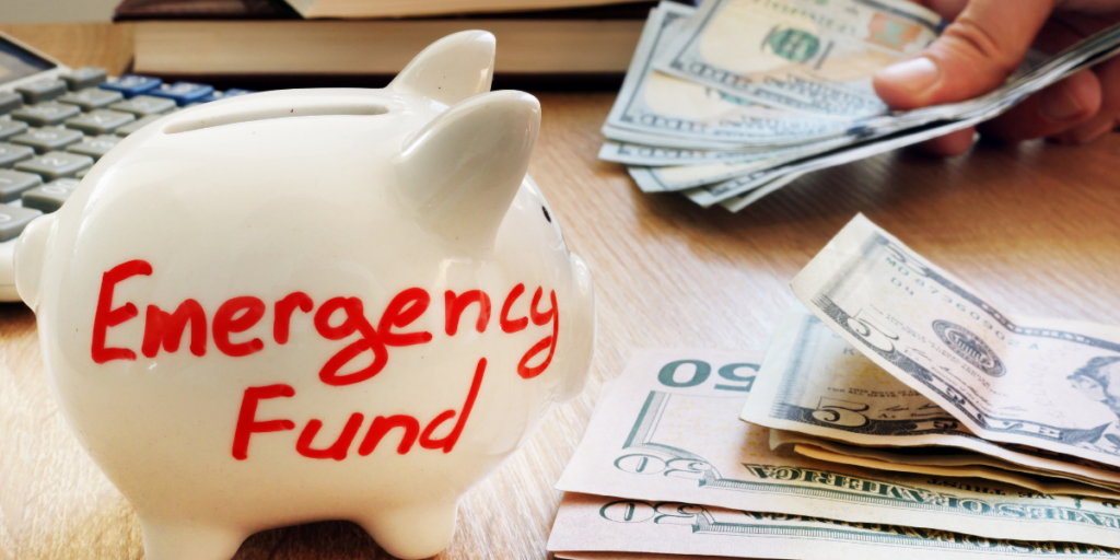 Emergency fund before paying off debt and investing.