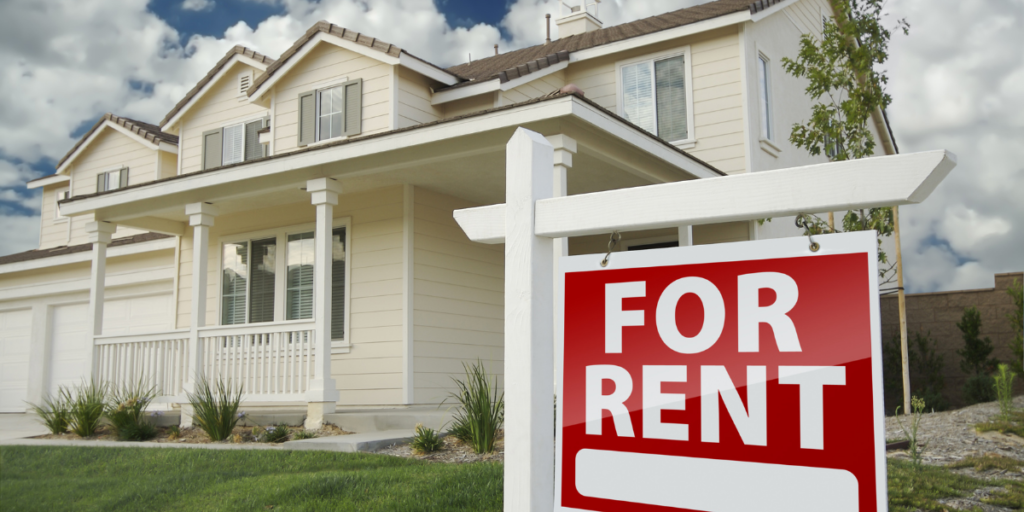 Investing in a rental property, placing it for rent and earning money to pay off debt.