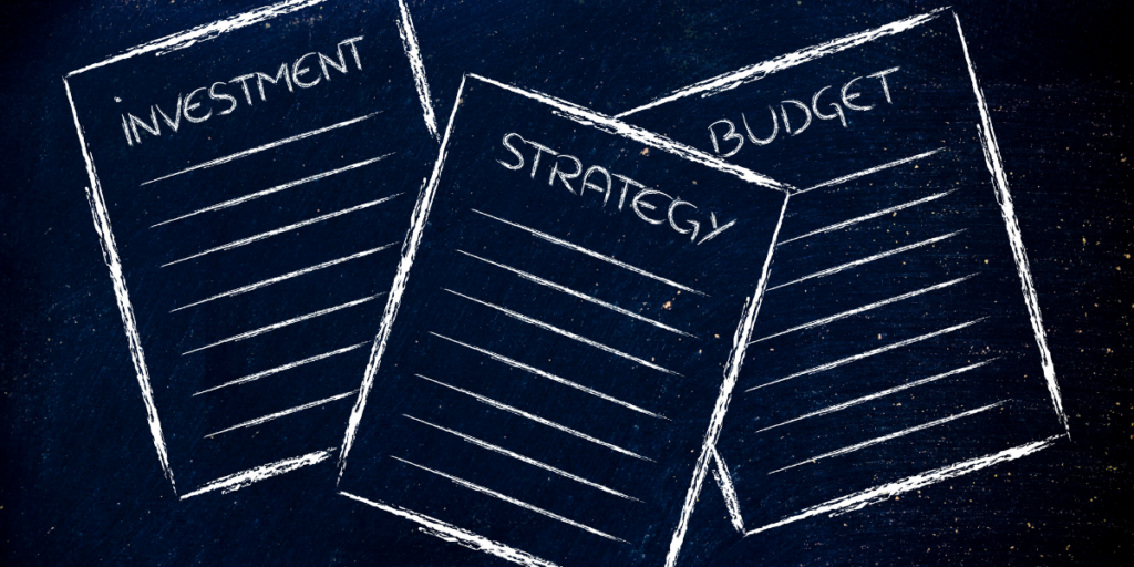 Investment strategies and your budget work together.
