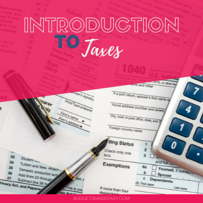 introduction to taxes