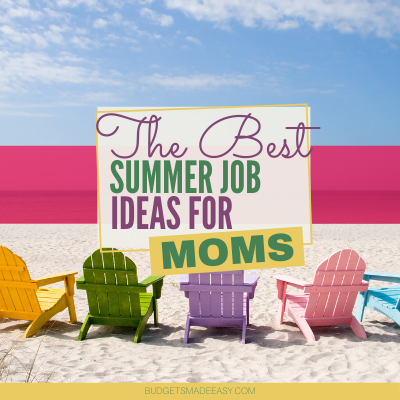 BEST SUMMER JOB IDEAS FOR MOMS
